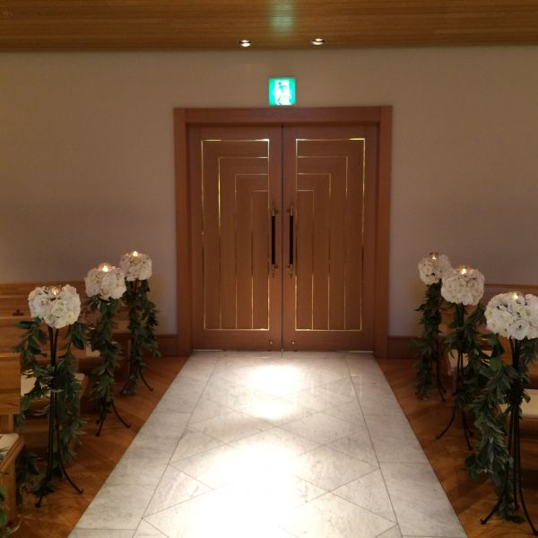 入口の扉です。