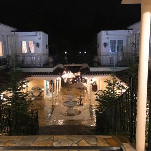 夜の雰囲気も素敵です。|482442さんのヴィラ・デ・マリアージュ軽井澤の写真(515983)