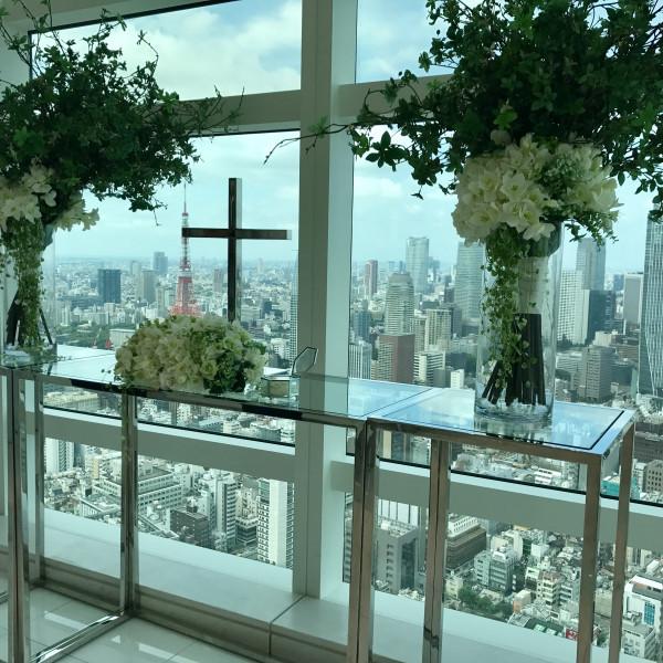 高層階にあるので景色を楽しめます。