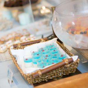 デザートブッフェのテーマも海!|484957さんのAMANDAN SAIL~アマンダンセイル~の写真(561134)