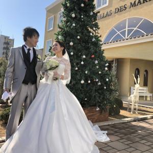 クリスマスツリーと|485312さんのヴィラ・デ・マリアージュ越谷レイクタウンの写真(543972)