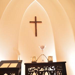 十字架は取り外し可能。宗教色は薄い。|486949さんのプレシャスガーデン セントクロワールの写真(554820)