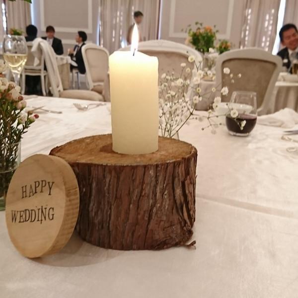 会場のテーブルコーディネートも素敵でした。