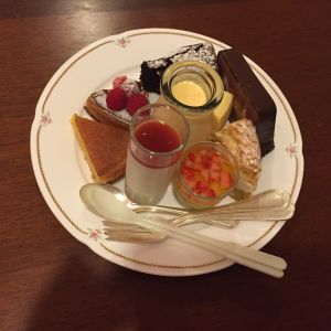 デザートビュッフェ|487124さんのホテル軽井沢エレガンス 「森のチャペル軽井沢礼拝堂」の写真(550661)