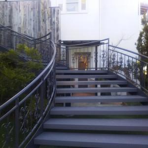 チャペルからの階段|487674さんのNEST by THE SEAの写真(568664)
