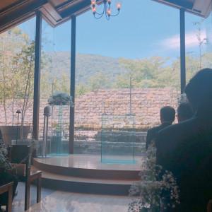 チャペル内|487990さんのヴィラ・デ・マリアージュ軽井澤の写真(647733)