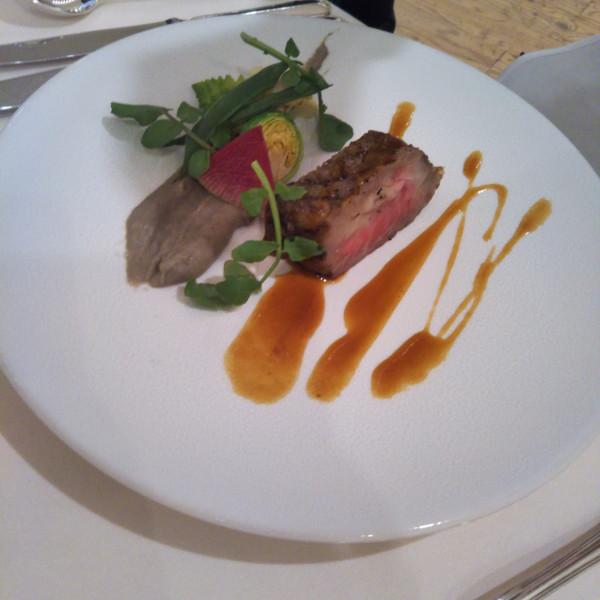 お肉は柔らかくて美味しかったです!