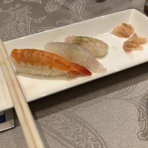締めのお寿司|488996さんの杉乃井ホテル&リゾートの写真(637424)