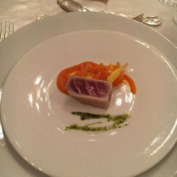 前菜のお魚料理