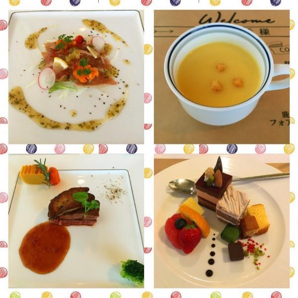試食料理。とてもおいしいです。