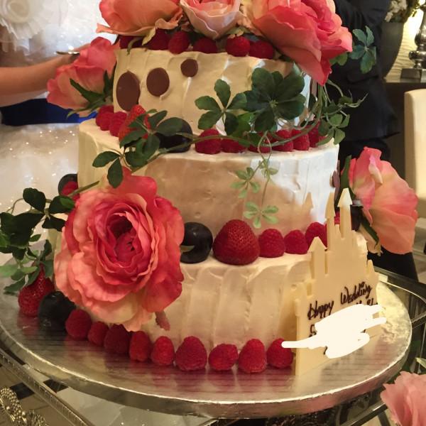 可愛らしいケーキ