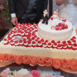 注文通りのケーキ|491865さんのグランシェル・ルミエール (GRAND-CIELグループ)の写真(570942)