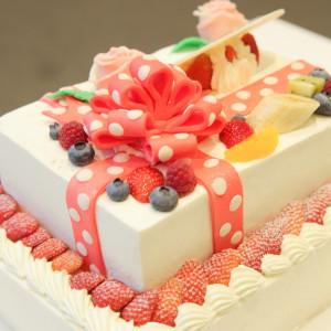好きなデザインで作ってもらえるのでケーキも忘れられない思い出|494584さんのPleats.Iの写真(582830)