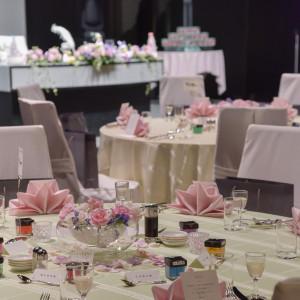 テーブルと全体図|497335さんのJASMAC PLAZA(ジャスマック プラザ)の写真(598167)