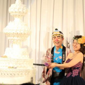 ケーキカットです|498078さんのホテル熊本テルサの写真(645456)