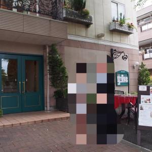 挙式会場外観。左上にテラスが写ってます|498731さんのフランス料理 アルピーノの写真(608640)