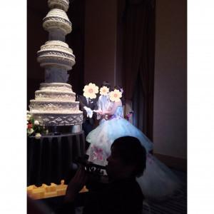 ケーキカットです。|499951さんの札幌プリンスホテルの写真(616793)