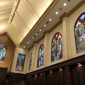 イエス様が生まれてから生涯のストーリーが刻まれている。|500385さんのアルカーサル迎賓館川越の写真(620173)