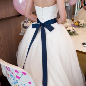 着替えた後の写真です|500996さんの8G Horie RiverTerrace Weddingの写真(625770)