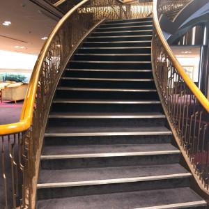階段でドレス姿での撮影可能。|501234さんのホテルメトロポリタン エドモント(JR東日本ホテルズ)の写真(622304)