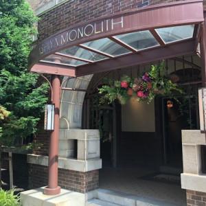 入り口もシックでカッコいい|501342さんのASHIYA MONOLITH 旧逓信省芦屋別館 ~芦屋モノリス~の写真(622477)