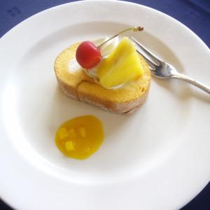デザートです|501537さんのオンリーワンウエディング サンパレスの写真(635325)