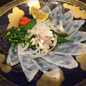 オプションのふぐ|502053さんの杉乃井ホテル&リゾートの写真(633599)