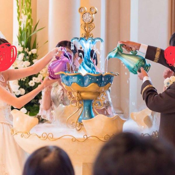 聖水の儀式です。