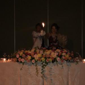 とても可愛い会場に仕上がりました 502940さんの青森国際ホテルの写真(630387)