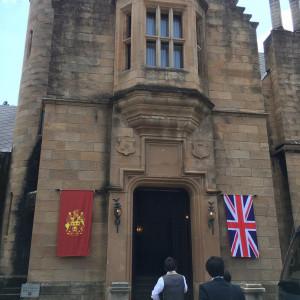 式場の入り口です。|502953さんのロックハート城ウエディングの写真(799234)