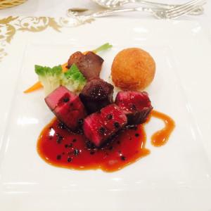 お肉の味がしっかりしていて、美味しかったです。 503352さんのセントグレースヴィラ(大阪心斎橋)の写真(631996)