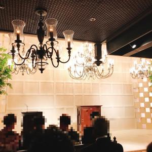 モダンな挙式会場|503726さんのBLOOM by maruya gardensの写真(654002)