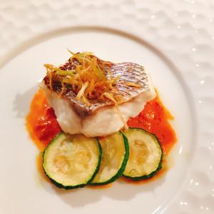 お魚料理|503726さんのBLOOM by maruya gardensの写真(654004)
