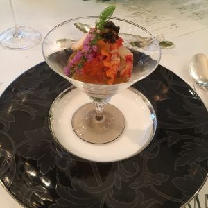 高級食材がたくさん!混ぜるととても美味しい1品に! 504050さんのセントグレースヴィラ(大阪心斎橋)の写真(634758)