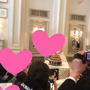 ケーキカットの場面です|504051さんのベイサイド迎賓館(長崎)の写真(634748)