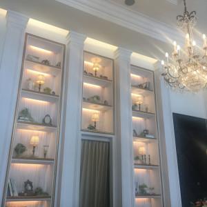 友人待合の壁。天井が高く凄くおしゃれでした|504857さんのアーヴェリール迎賓館(名古屋)の写真(645278)