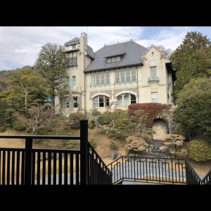 本館。チャペルからの景色|505605さんの神戸迎賓館 旧西尾邸の写真(641146)