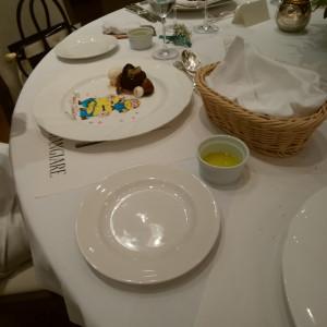 ケーキにパティシエさんのサプライズ|505635さんのChapel &Dining by CASA DOLCEの写真(640653)