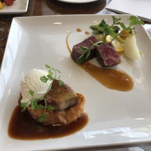 試食で頂いたお料理。オリジナリティーもあり美味しかったです。|505806さんのグラン・サウスオーシャンズの写真(645159)