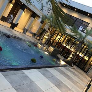 リゾート感満載の中庭|506442さんのPLEIAS OTA(プレイアス太田)の写真(645504)