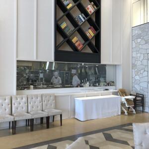 披露会場から見える厨房|506442さんのPLEIAS OTA(プレイアス太田)の写真(645503)