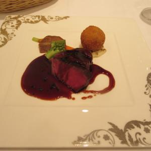 肉料理です。 507613さんのセントグレースヴィラ(大阪心斎橋)の写真(650614)