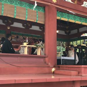 神前式|508980さんの鶴岡八幡宮(チアーズブライダルプロデュース)の写真(658672)