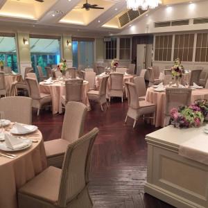 厨房が併設されたアットホームな披露宴会場|509060さんの神戸迎賓館 旧西尾邸の写真(659277)