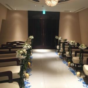 チャペル2(後方)|509091さんの小さな結婚式 横浜店の写真(660369)