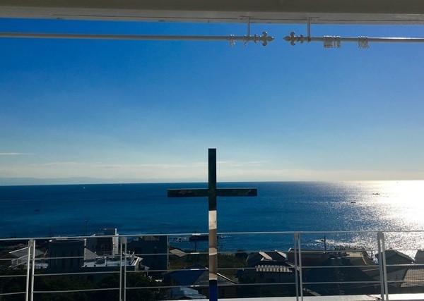 チャペルから見える海の景色