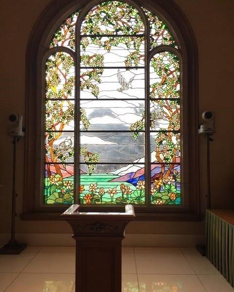 チャペルの祭壇部