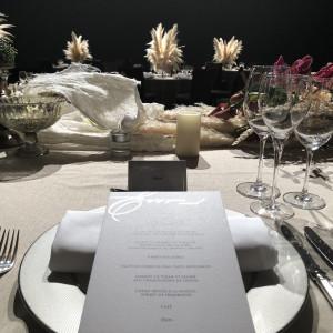 テーブルのコーディネートもこだわることができます。|509656さんのパレスホテル東京(PALACE HOTEL TOKYO)の写真(673972)