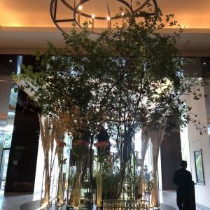 季節の花でお出迎え|509656さんのパレスホテル東京(PALACE HOTEL TOKYO)の写真(673963)