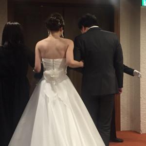 ドレス後ろ|509809さんの札幌パークホテルの写真(721396)